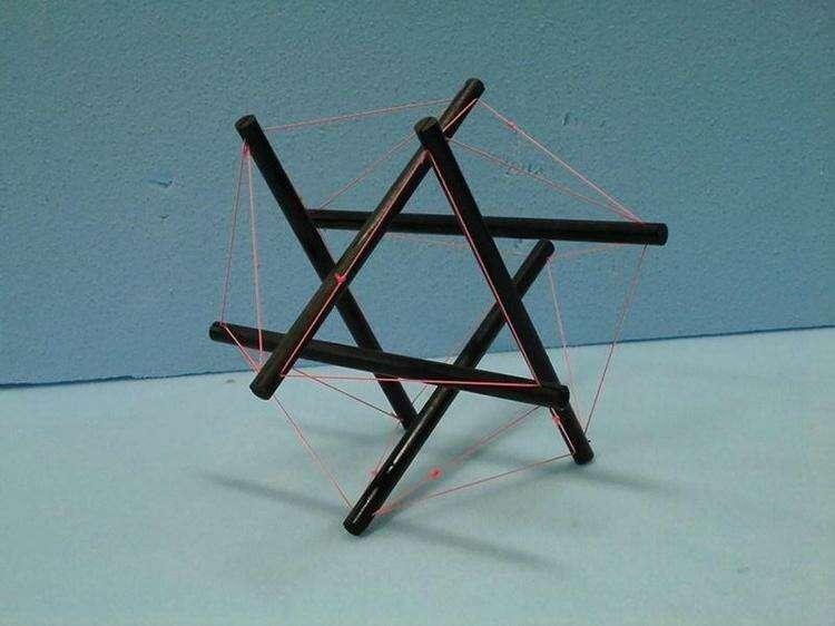 Тенсегрити и другая самая необычная научно обоснованная мебель
