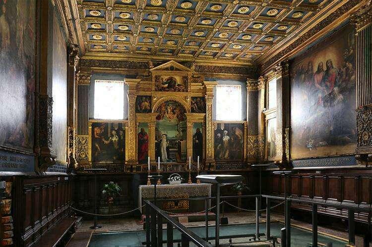 Достопримечательности Сиены: Святилище Святой Екатерины