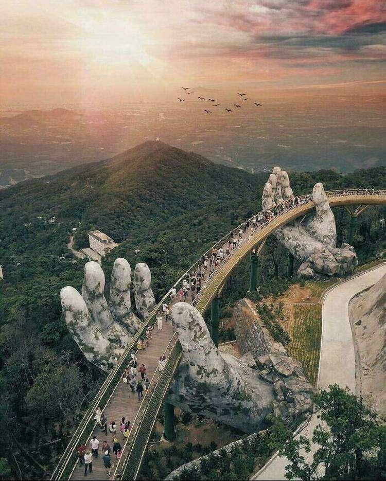 10. Золотой мост, Вьетнам