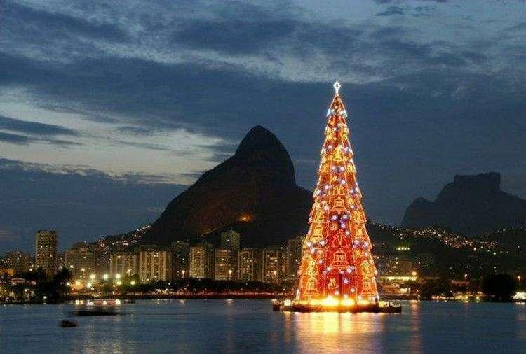 Бразилия интересное новый год снег