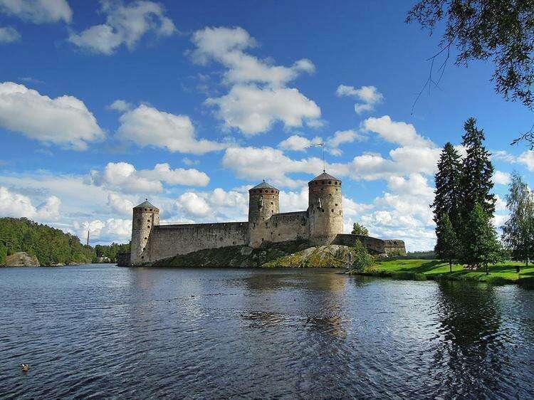 Крепость Олавинлинна (Олафсборг)